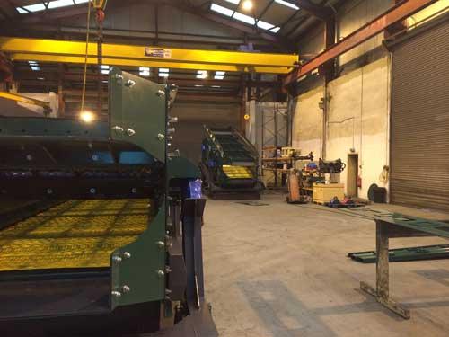 Waste Screens c/w Flip Flow Bottom Decks Screens in testing