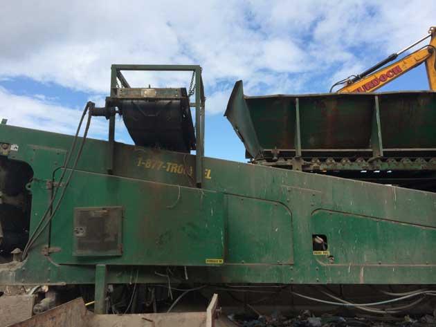 Magnet on Fines Conveyor