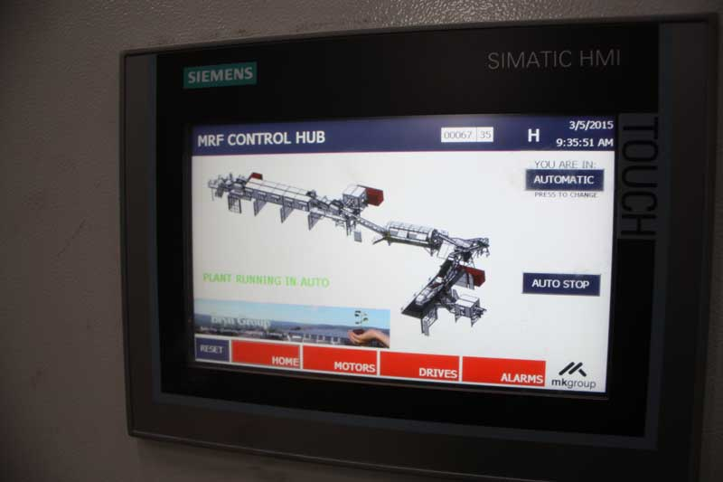 Electrical Control HMI