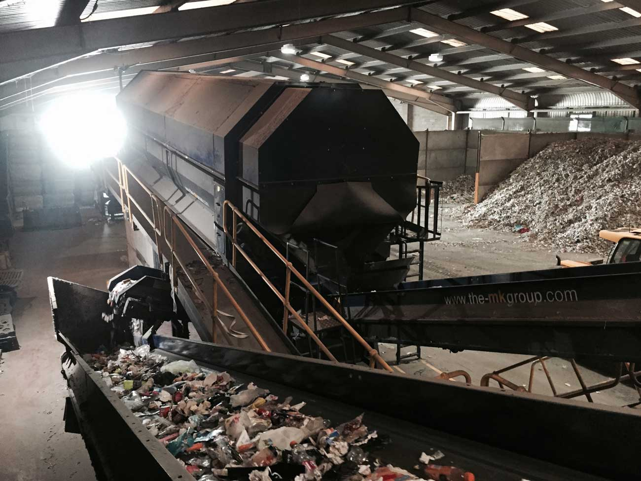 Trommel Screen Waste Recycling Equipment